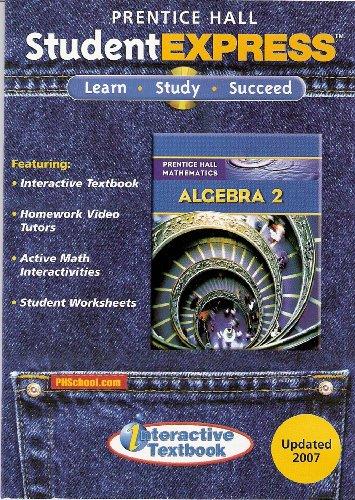 9780132504706: Prentice Hall Student Express: Algebra 2