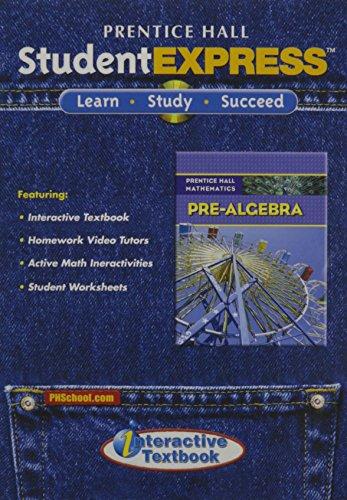 9780132504850: PRENTICE HALL MATH PRE-ALGEBRA STUDENT EXPRESS CD ROM 2007C