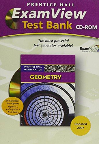 9780132504898: PRENTICE HALL MATH 2007 EXAMVIEW TEST GENERATOR CD GEOMETRY