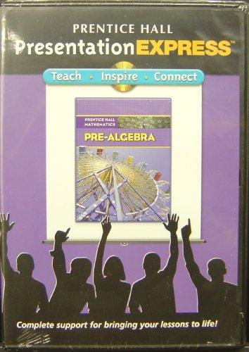 9780132504928: PRENTICE HALL MATH PRE-ALGEBRA PRESENTATION EXPRESS CD 2007C