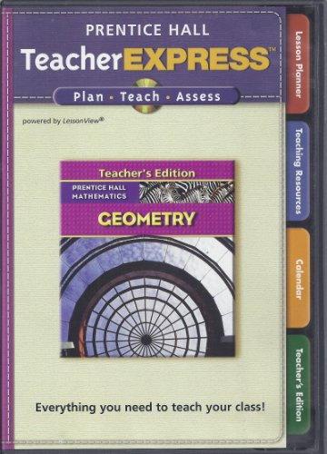 9780132504966: Prentice Hall Geometry Teacher Express