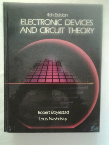 Electronic devices and circuit theory (9780132505567) by Boylestad, Robert L