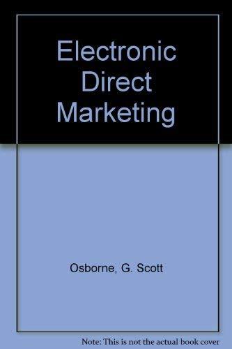 9780132506892: Electronic Direct Marketing