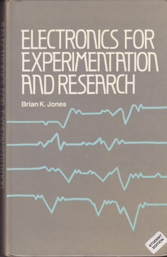 9780132507547: Electronics for Experimentation and Research