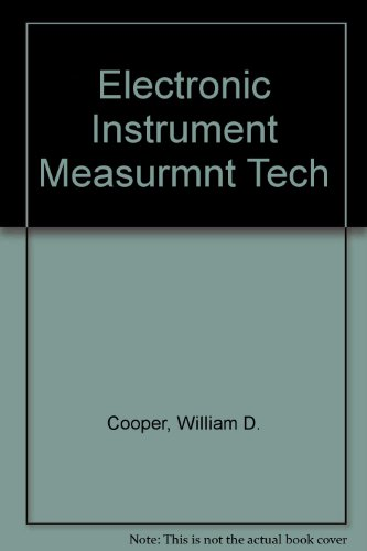 9780132507622: Electronic Instrumentation and Measurement Techniques