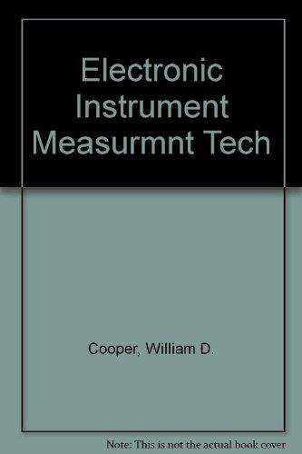 9780132507622: Electronic Instrument Measurmnt Tech