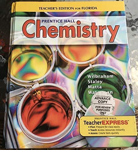 9780132507998: Florida Teacher's Edtion Prentice Hall Chemistry