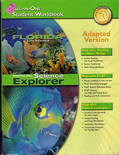9780132509183: All in One Student Workbook Adapted Version (Prentice Hall Science Explorer)