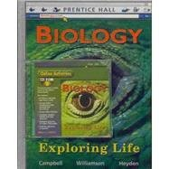 9780132509220: Biology Exploring Life + Cd + Learning Log