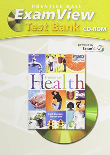 9780132510714: Health: ExamView Test Bank (Prentice Hall)