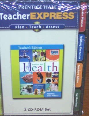 9780132510745: Teacherexpress (2 Cd-rom Set) (Discovery Education, Prentice Hall Health, Teacher's Edition)