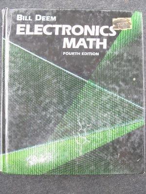 9780132512992: Electronics Math