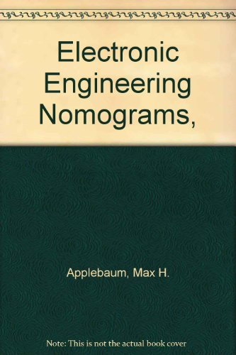 9780132513302: Electronic Engineering Nomograms,