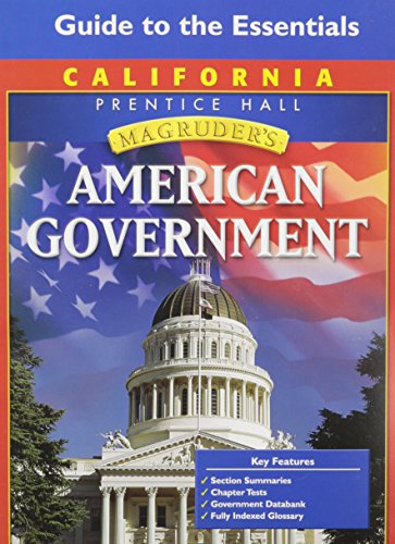 Magruder's American Government - California Edition: Guide to the Essentials: McClenaghan