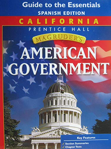 9780132513623: California Magruder's American Government (Guide to the Essentials - Spanish Edition)