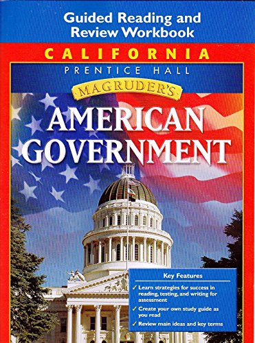 9780132513630: Magruder's American Government, California Edition: Guided Reading and Review Workbook