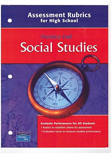 9780132513814: Social Studies, Assessment Rubrics for High School
