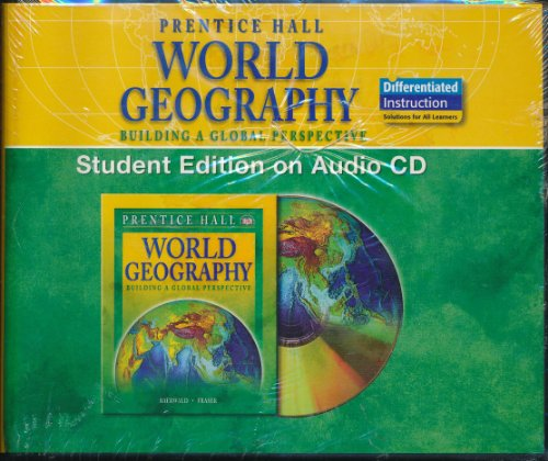 WORLD GEOGRAPHY STUDENT EDITION ON AUDIO CD