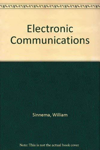 9780132514552: Electronic Communications