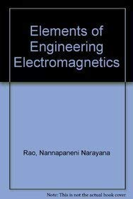 Elements Of Engineering Electromagnetics Pdf