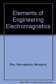 9780132516044: Elements of Engineering Electromagnetics