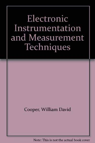 9780132516860: Electronic Instrumentation and Measurement Techniques