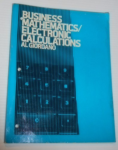 9780132517362: Business mathematics/electronic calculations