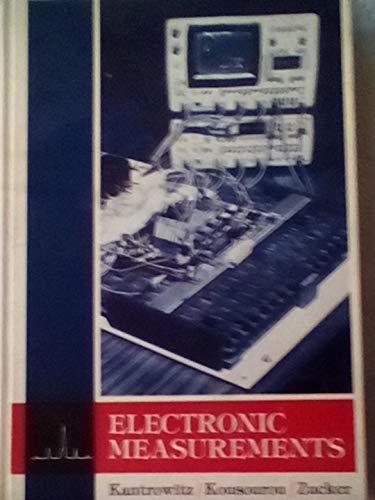 Electronic Measurements: Philip Kantrowitz