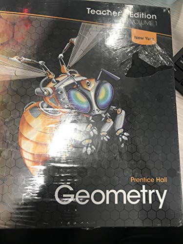 9780132518123: Geometry - Prentice Hall- Teacher's Edition Vol 1 NY