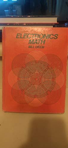 9780132523042: Electronics math