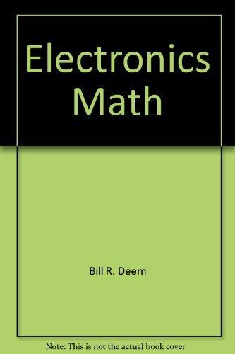 9780132523219: Electronics math