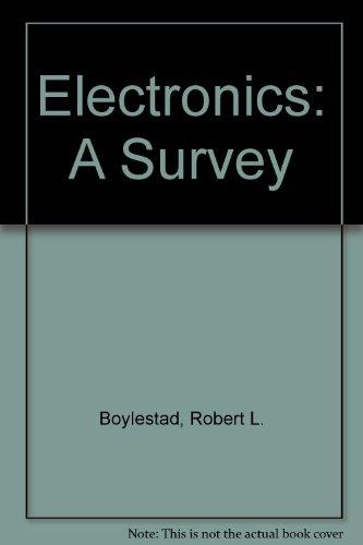 9780132524384: Electronics: A Survey