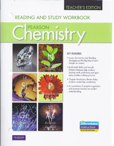 Reading and Study Workbook for Chemistry Teacher's Edition: Pearson
