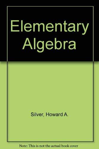 9780132528177: Elementary Algebra
