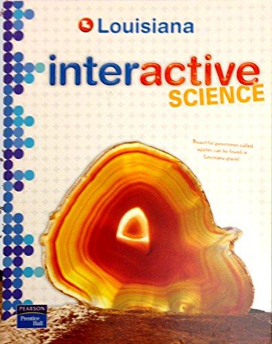 9780132528948: Louisiana Interactive Science Grade 8 2012 Student Edition