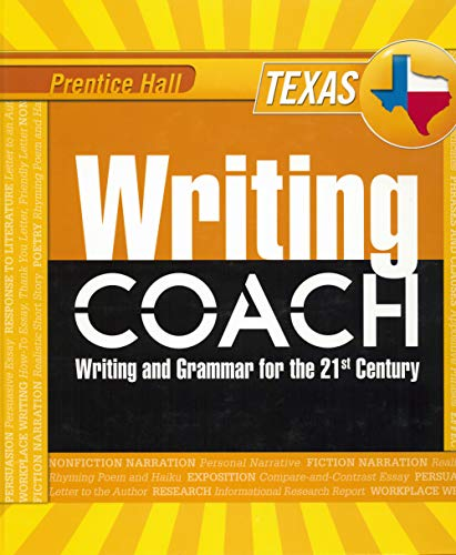 Prentice Hall Writing Coach: Writing and Grammar: Anderson, Jeff; Gallagher,