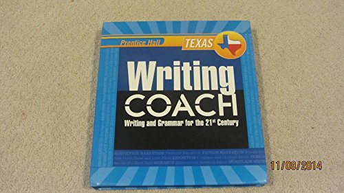 9780132529860: Writing Coach Writing and Grammer for the 21st Century (Texas Edition)