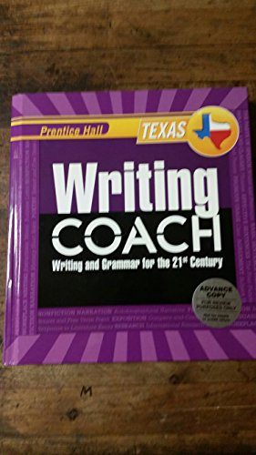 9780132529891: Prentice Hall Texas Writing Coach Grade 10