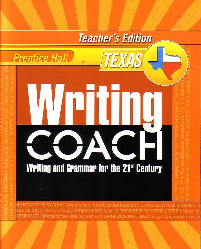 Prentice Hall Writing Coach: Writing and Grammar: Kelly Gallagher, Jeff