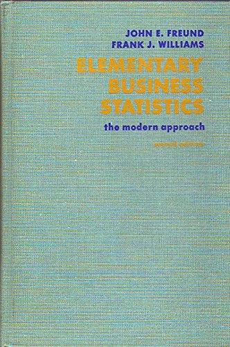 9780132530392: Elementary Business Statistics: The Modern Approach