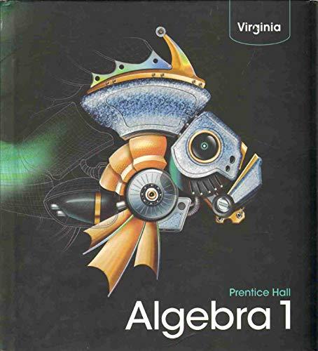 9780132530804: PRENTICE HALL ALGEBRA 1 Virginia Edition