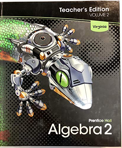 9780132530910: Algebra 2, Teacher's Edition, Volume 2, Virginia Edition