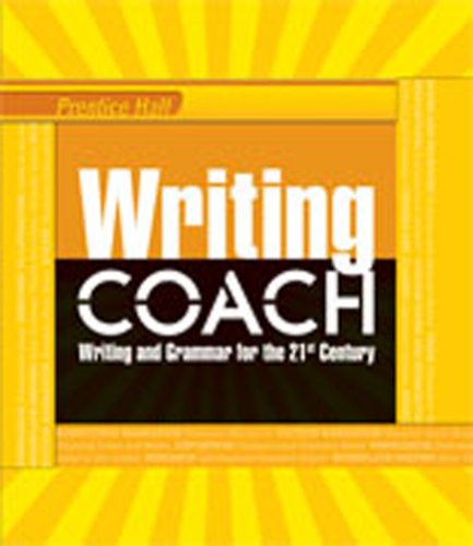 writing coach pearson This document demonstrates how prentice hall writing coach, ©2012 aligns to pearson common core literature, ©2015, and fully complements the program.