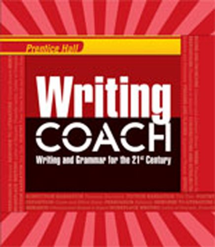 WRITING COACH 2012 NATIONAL STUDENT EDITION GRADE: Education, Pearson