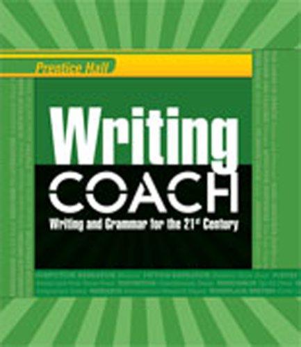 9780132531467: WRITING COACH 2012 STUDENT EDITION GRADE 12