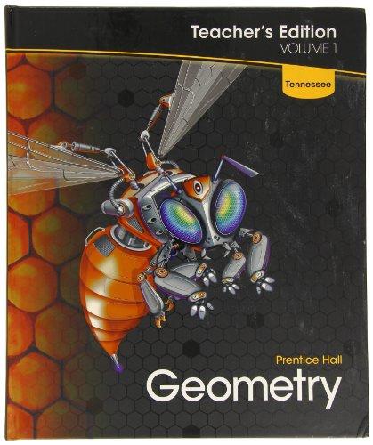 Geometry Prentice Hall Volume 1 TE