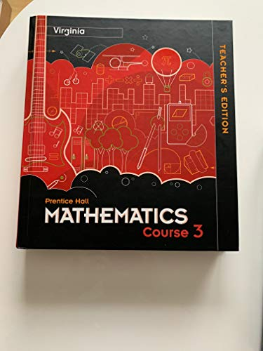 9780132532822: Prentice Hall Mathematics: Course 3: Teacher's Edition, Virginia Edition