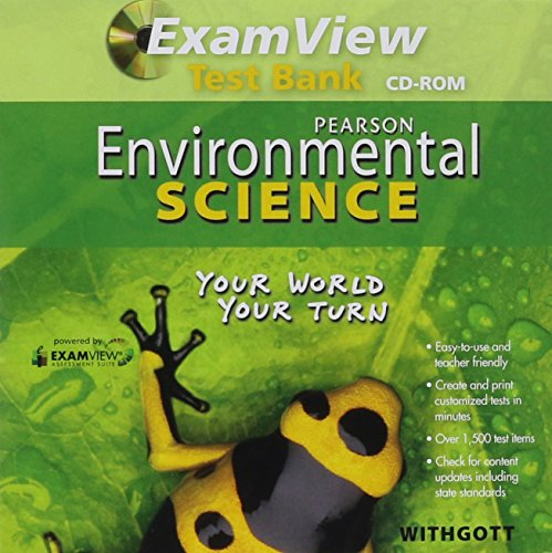 9780132533614: Environmental Science 2011 Examview Computer Test Bank Grade 11