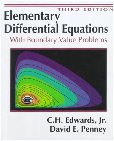 9780132534109: Elementary Differential Equations With Boundary Value Problems