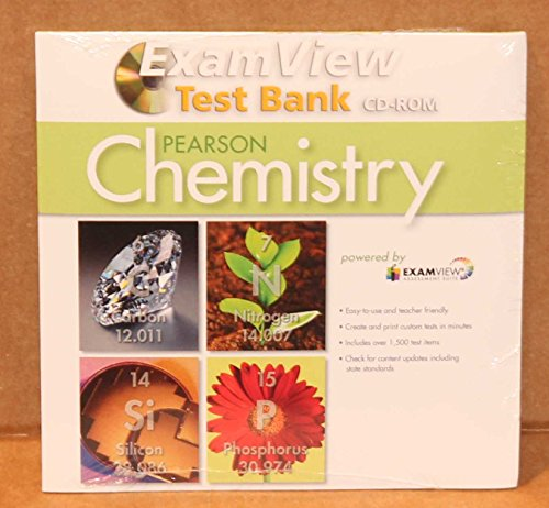 9780132534710: Pearson Chemistry ExamView Test Bank CD-ROM